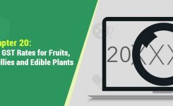 HSN Codes and GST Rates for Fruits, Juices, Jams, Jellies,Edible Plants