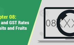 Chapter 8: HSN Codes and GST Rates for Dry Fruits and Fruits