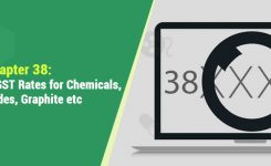 HSN Codes and GST Rates for Chemicals, Insecticides, Graphite etc