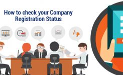 How to check the status of your company registration application?