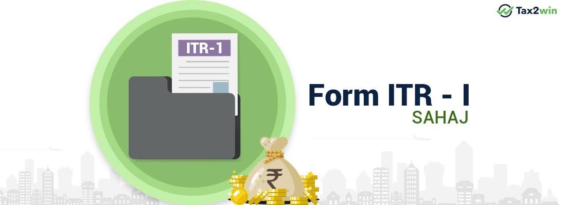 Form-ITR-1-sahaj