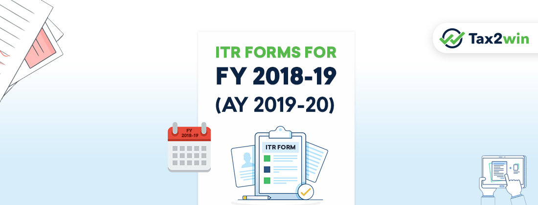 ITR-Forms-For-FY-2018-19(AY-2019-20)