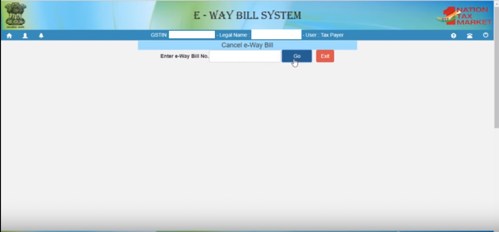 e-way bill cancel