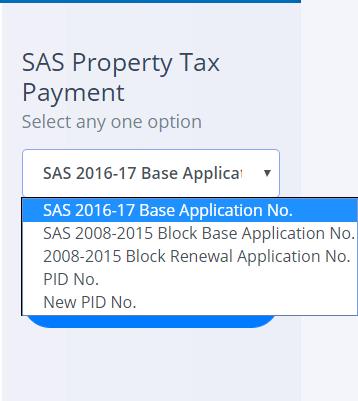 SAS Property Tax