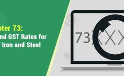 Chapter 73: HSN Codes and GST Rates for Products of Iron and Steel