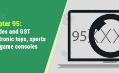 Chapter 95: HSN Code & GST Rate for Electronic toys,sports goods,game consoles