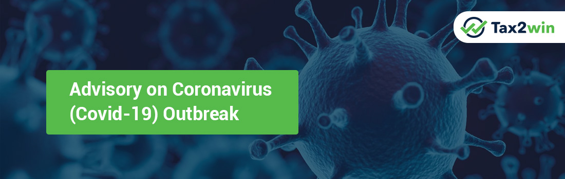 Advisory on Coronavirus (Covid-19) Outbreak